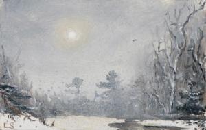 silent snowfall
