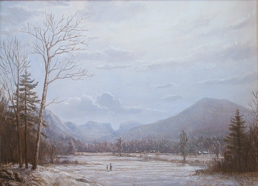 View of Carter Notch, 14x19in.