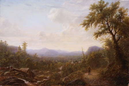 Erik Koeppel_View over Jackson, NH_16 x 24 inches_Oil on canvas_ White Mountain Art WEB