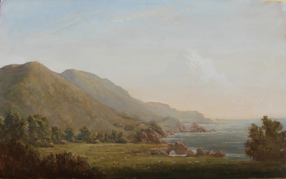 Lauren Sansaricq_big sur coast_10x16in._oil on panel
