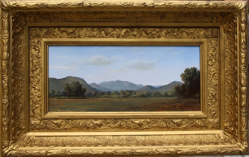View of the presedentials framed