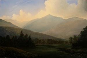 lauren Sansaricq_Mount Adams at the Peabody River_12x18in. _Oil on panel Web