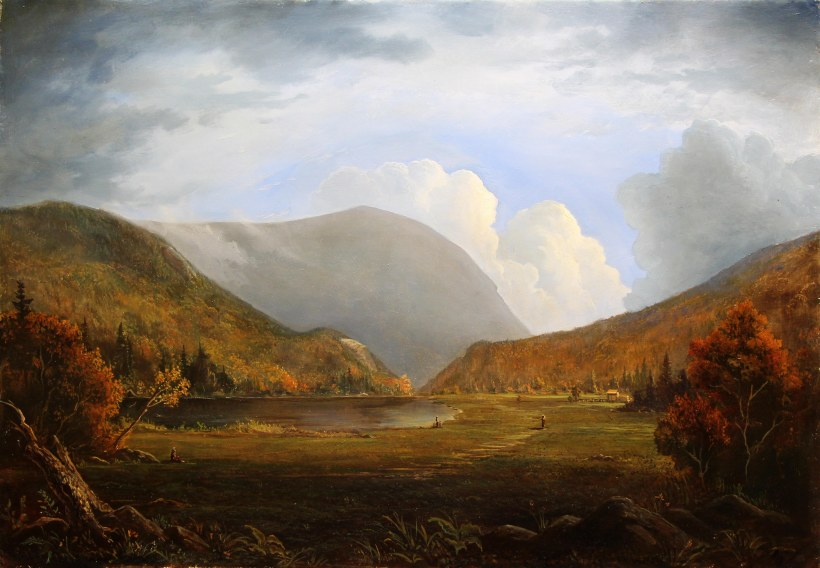 Crawford Notch _ Lauren Sansaricq_ Oil on paneWeb l