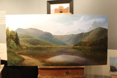 "And the larger painting ""The Basin"" 24 x 48in."