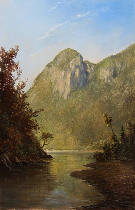 Lauren Sansaricq _ Eagle Cliff Franconia Notch_ Web _9 x 14 in