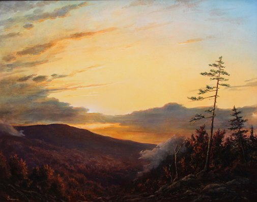 Lauren Sansaricq _ White Mountain Sunset_16in. x 20in_WEB
