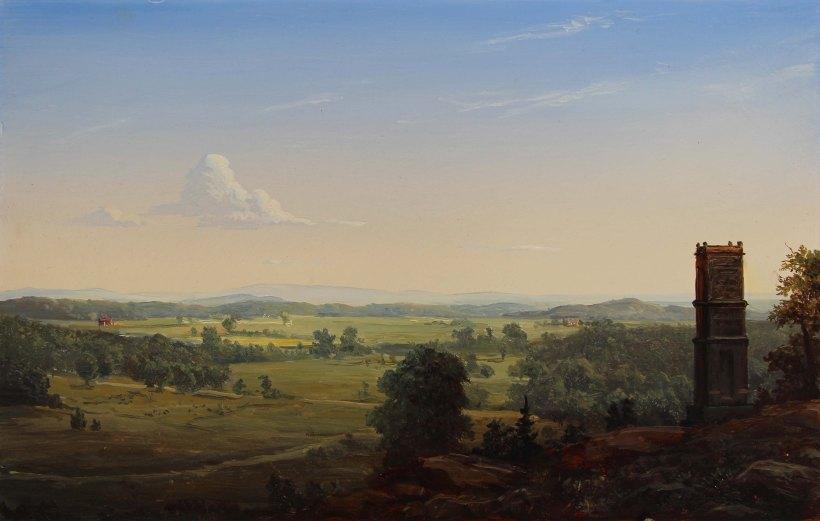 LaurenSansaricq_View from Little Round Top in Gettysburg PA_ Lauren Sansaricq_WEB_9x14in