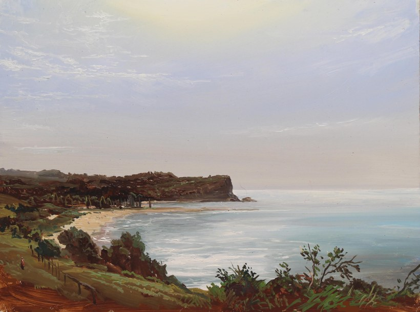 Lauren Sansaricq_Morning at Mona Vale_9x14in. oil on panel_WEB