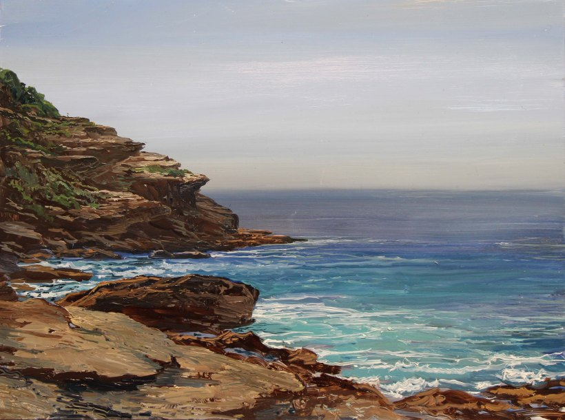 Tamarama Rocks in Morning_9x12 _WEB