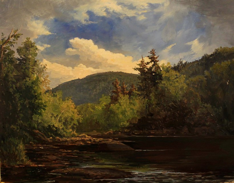 Afternoon on the Schoharie Creek_11.5x9in_WEB