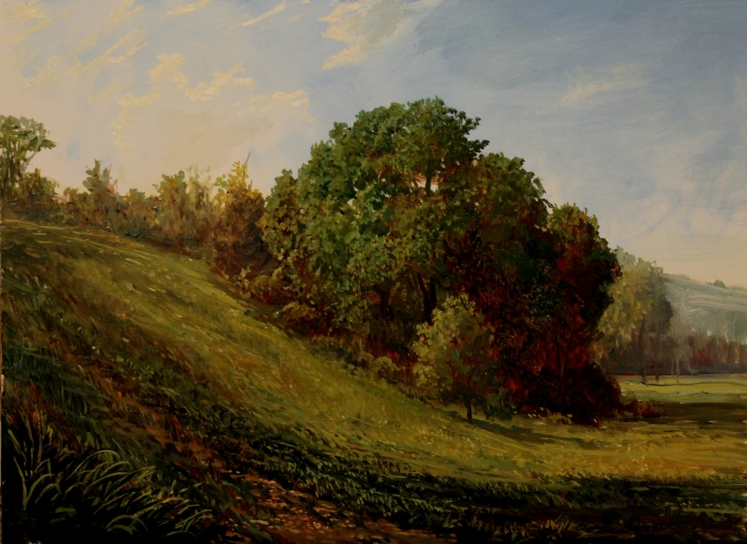 Pastoral Scene in The Hudson Valley_9x12